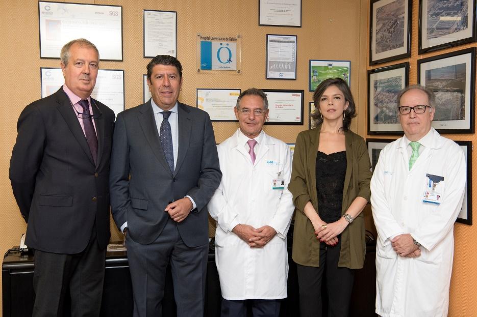 El Hospital de Getafe recibe la Acreditación QH por la calidad en la atención de los pacientes