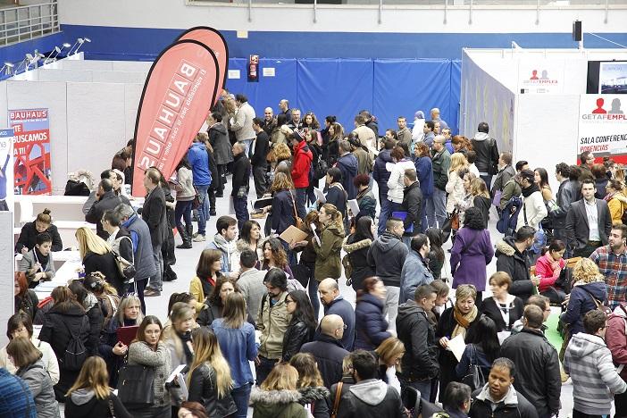 Más de 5.000 personas asisten a la I Feria de Empleo de Getafe 'GETAFEMPLEA'