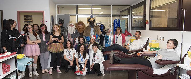 Éxito en el XIV Maratón de Donación de Sangre del Hospital Universitario de Getafe