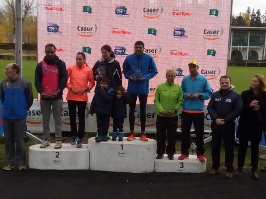 El atleta del Club de Atletismo Artyneon Mohamed Blal logra el oro en el I Trail C4 Caser Club de Campo Villa de Madrid