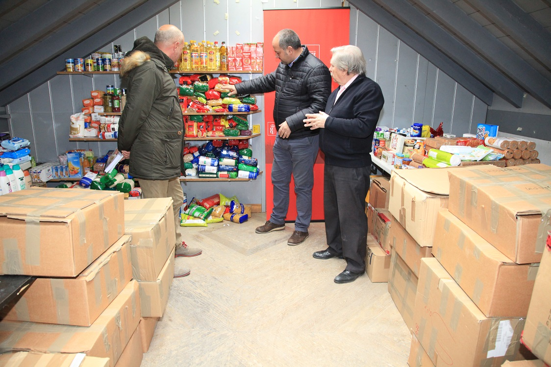 Getafe recoge 2.500 kilos de alimentos en la 'VI Semana del Deporte Solidario'