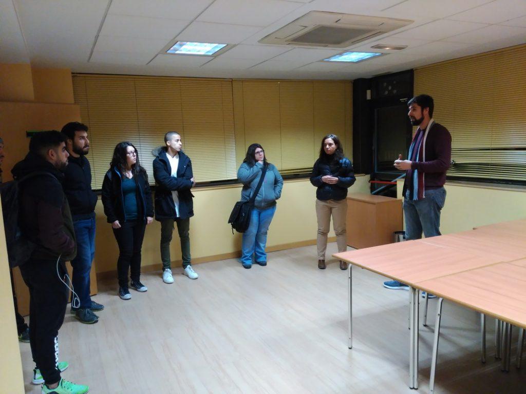 Las asociaciones juveniles de Getafe han visitado el nuevo Espacio Getafe Joven