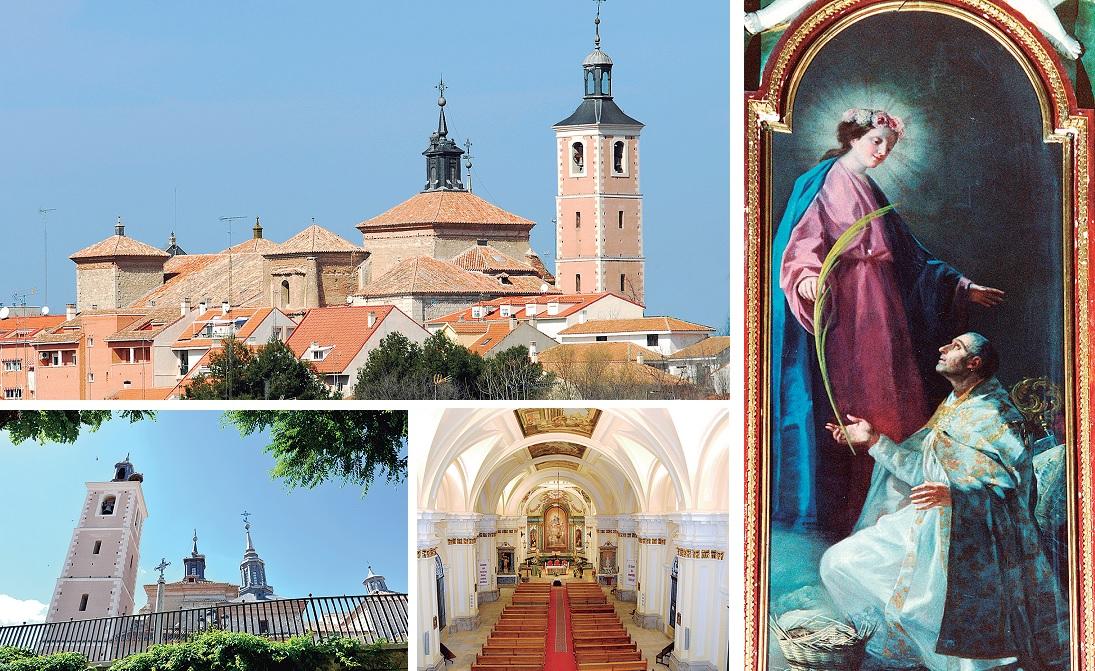 Diversas imágenes de la Iglesia de Nuestra Señora de la Asunción, de Valdemoro