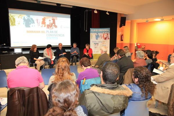 Presentado el borrador del Plan de Convivencia de Getafe en el barrio de La Alhóndiga