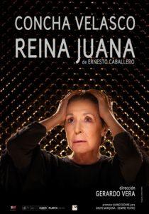 Concha Velasco representará en el Lorca de Getafe la obra 'Reina Juana'
