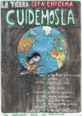 129 niños y niñas de 5º y 6º de Primaria de Getafe han participado en el concurso de carteles sobre eficiencia energética en colegios