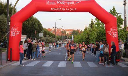 Castor Zarceño y Carolina Jiménez se proclaman vencedores de la XXVIII Carrera Popular 'Ciudad de Getafe' 2017