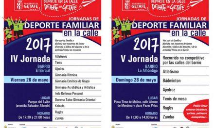 Vuelve el programa 'Deporte Familiar en la Calle' con dos nuevas jornadas