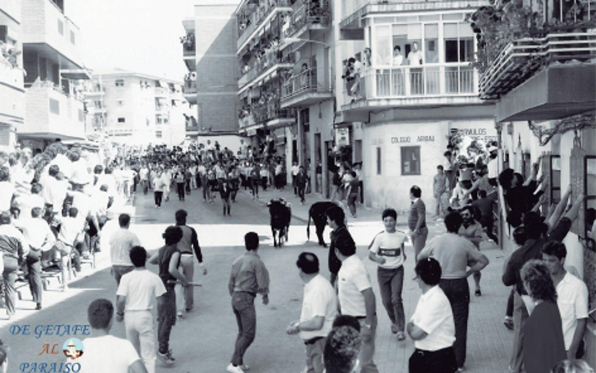 En habitantes en 1960 getafe