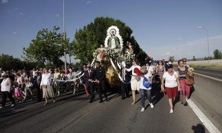 40.000 personas acompañaron a la imagen de la Virgen de los Ángeles en la tradicional Bajada