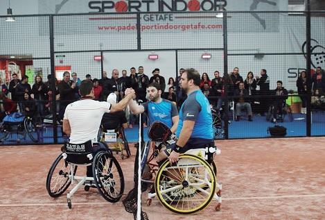 II Torneo Nacional de Pádel Adaptado en el Sport Indoor Getafe