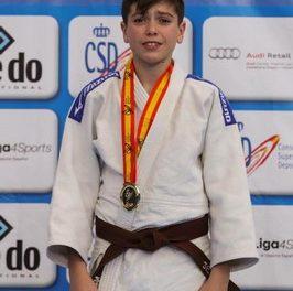 El getafense Sergio Quintanilla se proclama Campeón de España infantil de judo