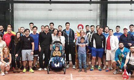 Éxito del torneo de pádel a beneficio de 'El sueño de Aitor'
