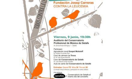 Getafe acogerá un concierto a beneficio de la Fundación Josep Carreras contra la leucemia