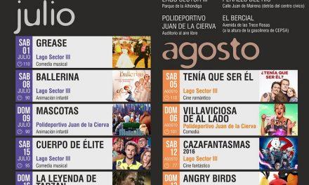 Getafe amplía el programa de cine de verano a distintos barrios como respuesta a los Presupuestos Participativos 2016