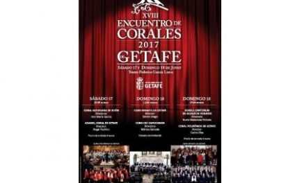El Encuentro de Corales y el concierto de la Orquesta Sinfónica Ciudad de Getafe 'Inside the Orchestra' pondrán el acento musical en Getafe