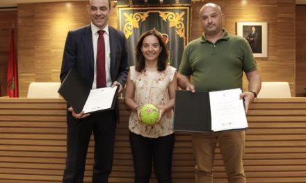 El Ayuntamiento de Getafe y la Federación Madrileña de Balonmano apuestan por el balonmano playa en el municipio