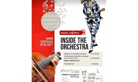 Inside the Orchestra llega mañana a Getafe