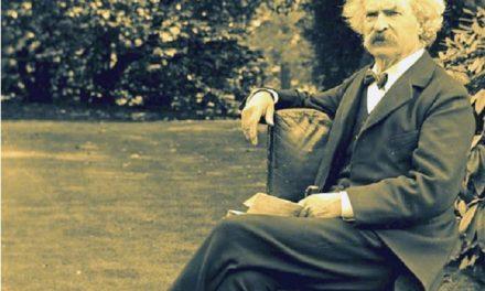 Mark Twain y el cometa Halley