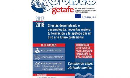 30 personas desempleadas de Getafe viajarán a Europa para formarse dentro del programa 'Odiseo'