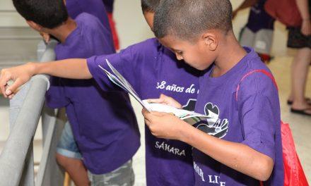 14 niños y niñas saharauis llegan a Getafe para pasar el verano con sus familias de acogida
