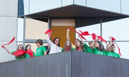 Dos chicas de la Comisión de Infancia y Adolescencia de Getafe las primeras mujeres en dar el pregón de las fiestas
