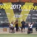 El getafense Óscar Agea y el vasco Edorta de Anta revalidan el título de campeones de España de pádel en silla de ruedas
