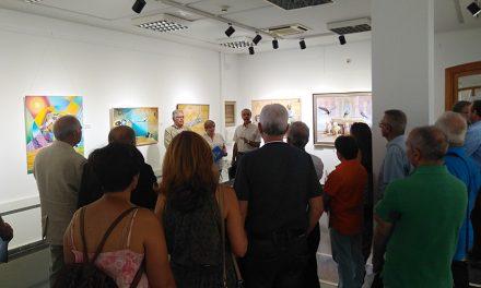 Inauguración de la exposición artística 'Unesco, visión artística de La Carpa'