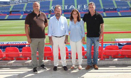 Getafe C.F. y Ayuntamiento firman el primer patrocinio de eventos culturales para la ciudad