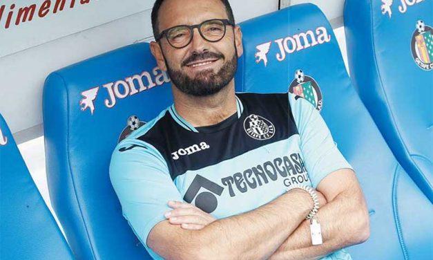 José Bordalás. Entrenador del Getafe CF