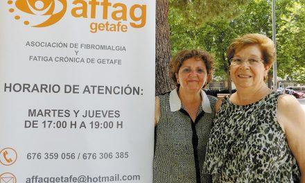 Felisa Ramiro Noboa y Rosa Rodríguez. Miembros de la Asociación de Fibromialgia y Fatiga Crónica