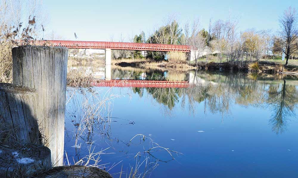 Puente de hierro de Fuentidueña de Tajo