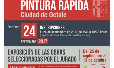 Las calles y plazas de Getafe acogerán el XVII Certamen de Pintura Rápida de la ciudad