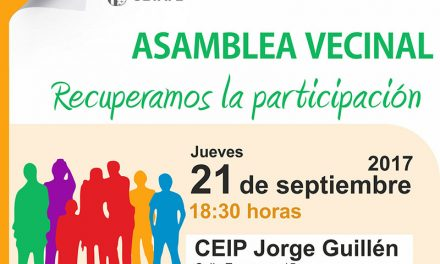 Asamblea para consensuar las obras de acondicionamiento de un aparcamiento en Camino Viejo de Pinto y avenida de Los Ángeles