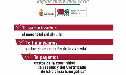 El Gobierno de Getafe pone en marcha el proyecto 'Vivienda Abierta' para impulsar el alquiler social de viviendas vacías