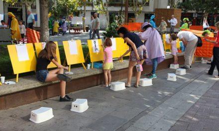 Pablo Rubén López primer premio del XVII Certamen de Pintura Rápida 'Ciudad de Getafe'