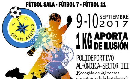Este fin de semana se celebra el II Torneo Benéfico del A.D.C Getafe Atlético