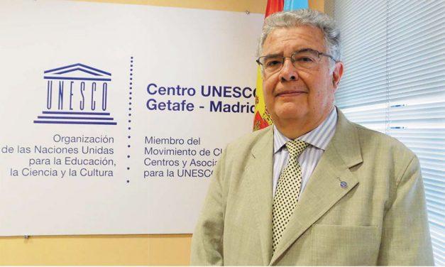 Alberto Guerrero, Presidente de Centro UNESCO Getafe-Madrid