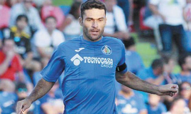 Jorge Molina, capitán del Getafe CF
