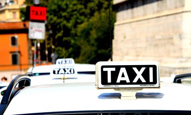 Ahora solo queda esperar a que el taxi desaparezca