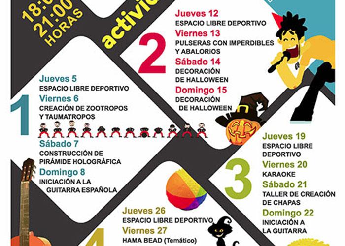Arranca el programa 'Convivimos' que abre las pistas del colegio Severo Ochoa de jueves a domingo