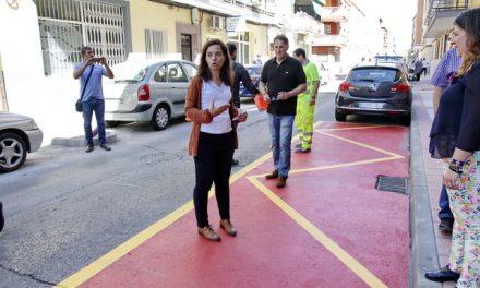 El Gobierno Municipal habilita 4 plazas de aparcamiento gratuito para clientes de la galería comercial San José de Calasanz