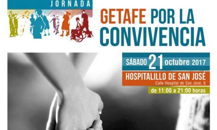 20 entidades sociales se darán cita este fin de semana para celebrar la jornada 'Getafe por la Convivencia'