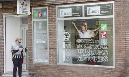 Getafe estrena un nuevo centro de terapia para mayores