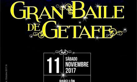 Los mayores disfrutarán del segundo 'Gran Baile de Getafe' el próximo 11 de noviembre