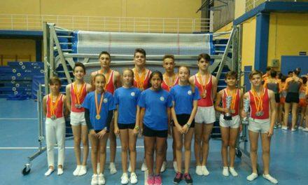 El Club Gimnástico Getafe se proclama Campeón de España absoluto en el Campeonato de España de gimnasia trampolín