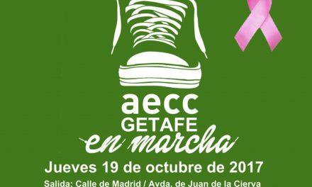 Getafe visibilizará la lucha contra el cáncer de mama con una marcha y una gran gota formada con paraguas