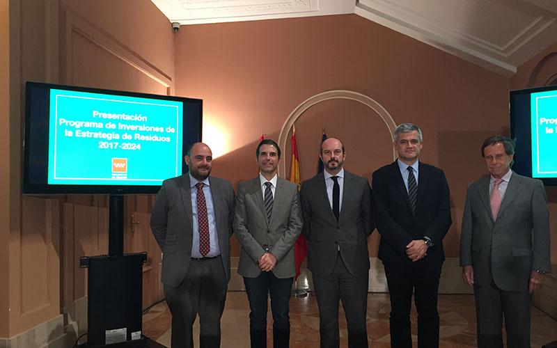La Comunidad de Madrid invierte 300 millones de euros en el Programa de Estrategia de Residuos 2017-2024