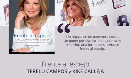 Firma del libro 'Frente al Espejo' de Terelu Campos y Kike Calleja en Troa Librerías de Getafe
