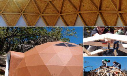 La comunidad educativa del Instituto Menéndez Pelayo de Getafe construirá un Domo Geodésico que se denominará 'DOMOaula'